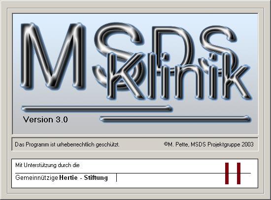MSDS Klinik