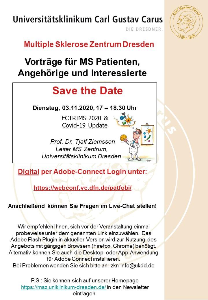 Patientenfortbildung November 2020